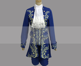 2017 Beauty and the Beast Prince Costume Cosplay Buy - $95.00