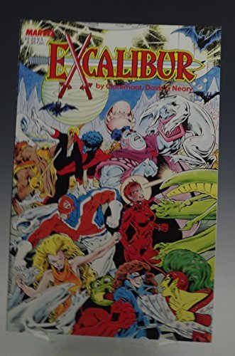 EXCALIBUR #1 SPECIAL EDITION MARVEL COMIC BOOK 1987 [Paperback] [Jan 01, 1970] D