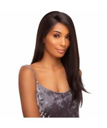 Style Plus Human Hair Blend Hand Tied Full Lace Wig Yaki T4/27/613 - $54.55