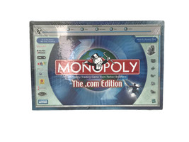 Monopoly Dot Com Edition Parker Brothers Hasbro Family Board Game 2000 S... - $30.82