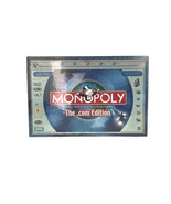 Monopoly Dot Com Edition Parker Brothers Hasbro Family Board Game 2000 Sealed - $30.82