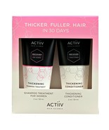 Actiiv Shampoo Treatment and Thickening Conditioner for Women Trial Kit ... - $20.99