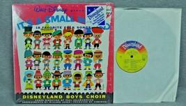 Walt Disney Presents It's A Small World Disneyland Boys Choir LP - $25.00