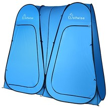 """WolfWise Pop Up Privacy Portable Camping, Biking, (""""D"""" Door Double Blue) - $136.92 CAD"""