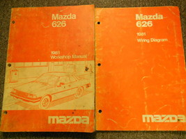 1981 Mazda 626 Service Reparatur Shop Manuell Set Fabrik OEM Bücher Selt... - $14.09
