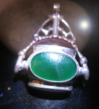 HAUNTED 4 SIDED SPINNING NECKLACE WITCH WIZARD SORCERER RARE MAGICK 7 SC... - $277.77