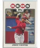 JOEY VOTTO RC 2008 Topps #319 Reds Baseball Trading Sports Cards MLB - $8.49