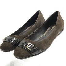 Cole Haan NikeAir Women's Brown Suede Ballerina Flats Sz 7.5B - Mint Con... - $50.27