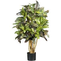 Faux Croton Silk Tree 3' ~ artificial plant - $92.95