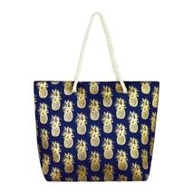 pineapple glitter beach bag  - $45.95