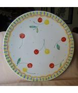 "1995 MIKASA Berry Jubilee #DW106 12"" Round Platter / Chop Plate - $48.00"