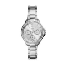 Fossil Women's Izzy Stainless Steel Casual Quartz Watch (Silver) - £87.94 GBP