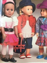 """McCalls Sewing Pattern 6764 Dolls Clothes Accessories Size 18"""" New - $18.80"""