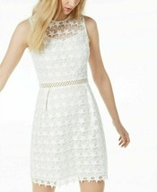 Maison Jules Dress Star Pattern Lace Fit & Flare Sz 12 NEW NWT - $129.50