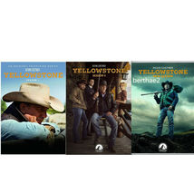 Yellowstone: The Complete Series Collection Seasons 1-3 1 2 3 DVD 2020 B... - $32.50
