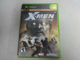 X-Men Legends 2 Rise Of Apocalypse Original Microsoft Xbox Game & Case N... - $21.05 CAD