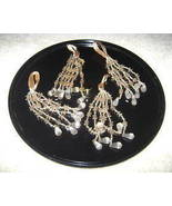 Victorian Style Beaded Icicle Tassel Ornaments x6 - $10.00