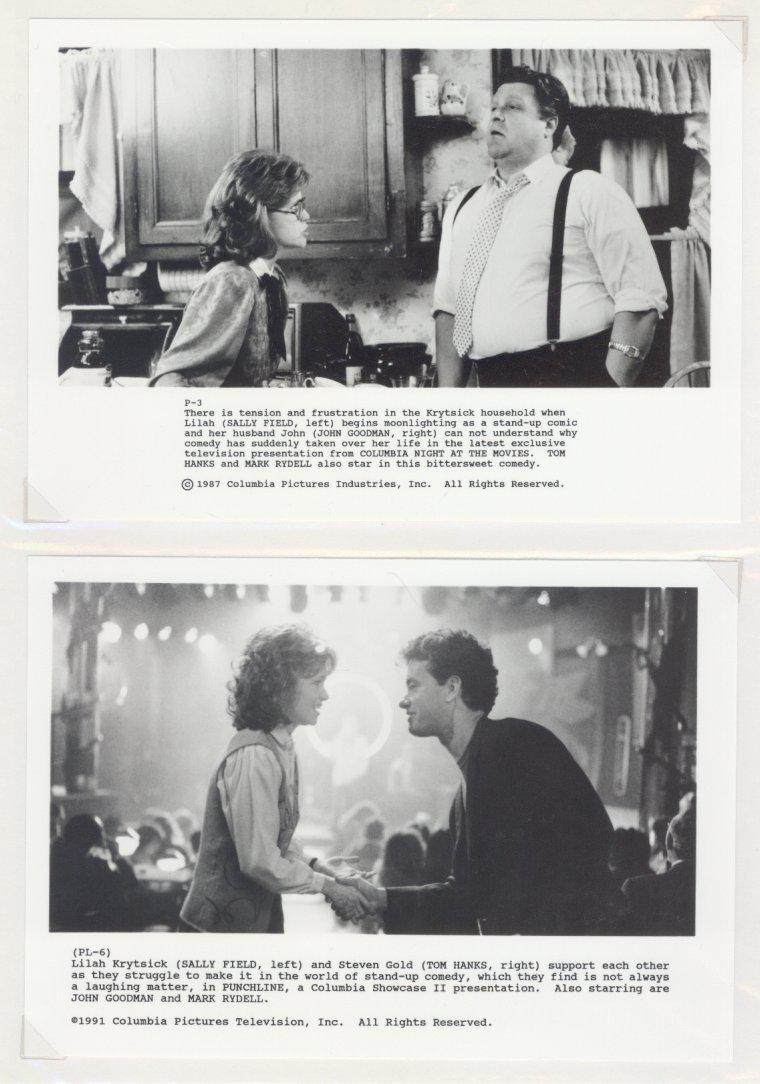 5 Punchline Tom Hanks Sally Field John Goodman Press Promo Photos Movie