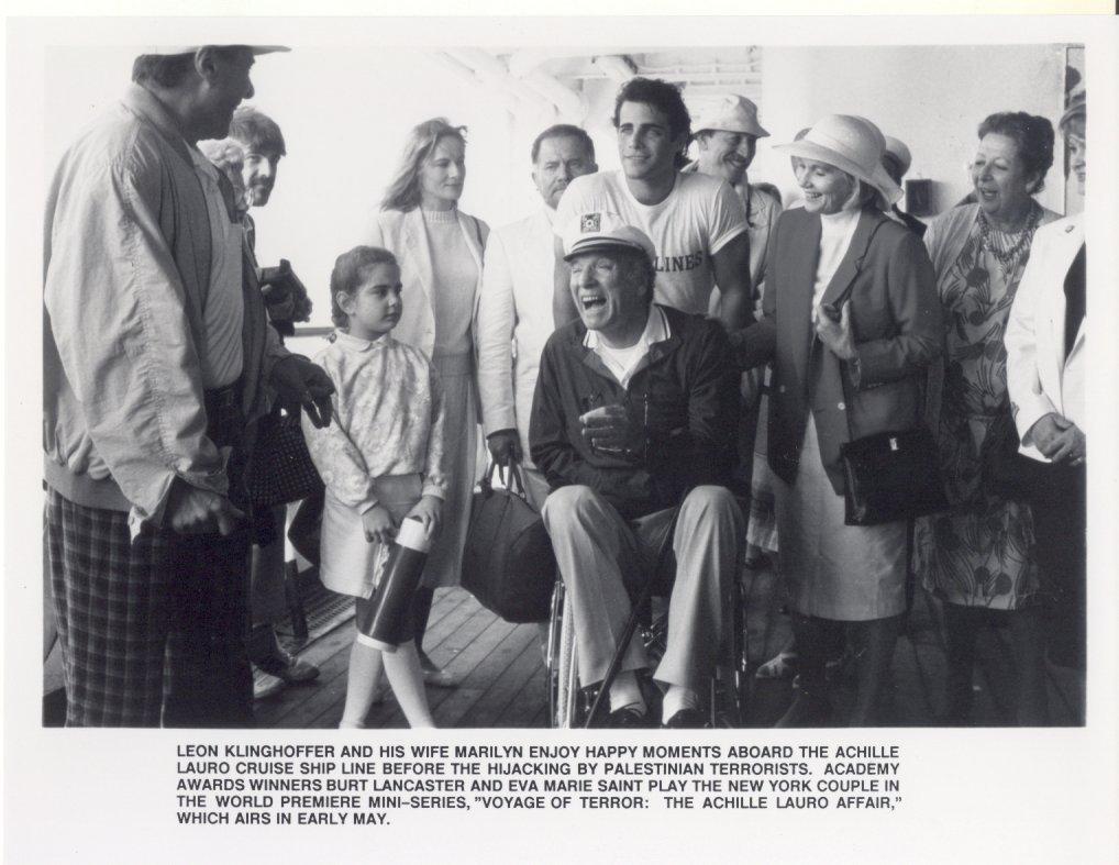 5 Voyage of Terror Burt Lancaster Press Promo Publicity Photos TV Film Movie