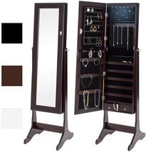 Best Choice Products 6-Tier Standing Mirror Lockable Storage Organizer C... - $153.70