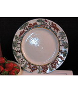 TG Green England Old Canterbury Hare and Fox Hunt Plate, Hard to Find Piece - $129.99