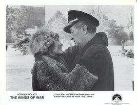 7 Winds of War Press Promo Publicity Photos TV Film Movie Wouk Robert Mi... - $7.99