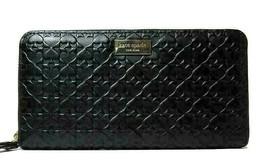 New Kate Spade New York Neda Penn Place Embossed zip around wallet Leath... - $75.00