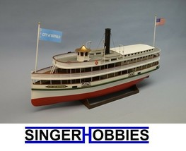 Dumas 1/48 1270 City of Buffalo Lake Steamer Plastic R/C Model Kit DUM12... - $229.99
