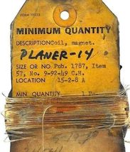 NEW CUTLER HAMMER 9-92-49 COIL 92-49 image 3