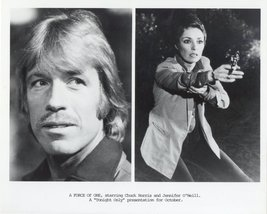 A Force of One Press Publicity Photo Chuck Norris Jennifer O'Neill Movie TV - $5.98