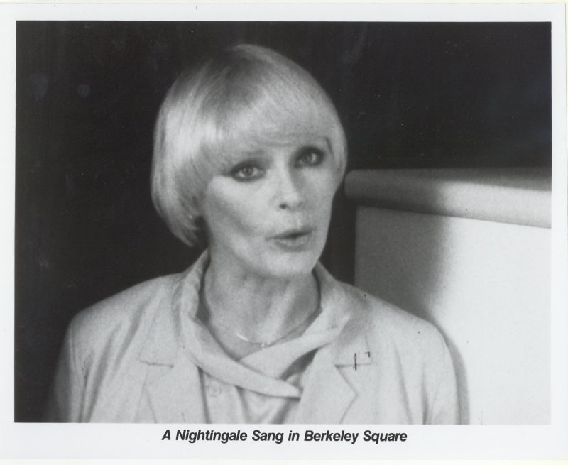 A Nightingale Sang in Berkeley Square Press Publicity Photo Elke Sommer Movie