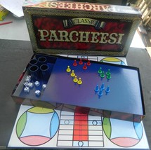 Classic Parcheesi--Complete-Winning Moves - $14.00