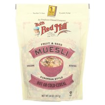 Bob's Red Mill Cereal - Fruit & Seed Muesli - Case of 4 - 14 oz - $26.99