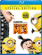 Despicable Me 3 [Blu-ray + DVD] (2017)