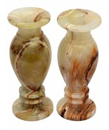 """Flower pot Home Decor, Gift Handcrafted Onyx Natural stone Vase (8"""", pac... - $75.22"""
