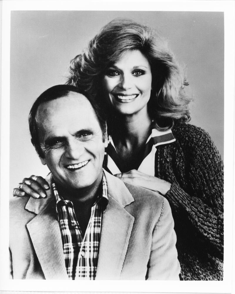 Bob Newhart Dick Louden Mary Fran 1980s Press Publicity Photo Movie TV Series