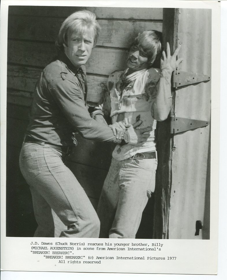 Breaker Breaker Chuck Norris Press Photo TV Movie 1977 Michael Augenstein