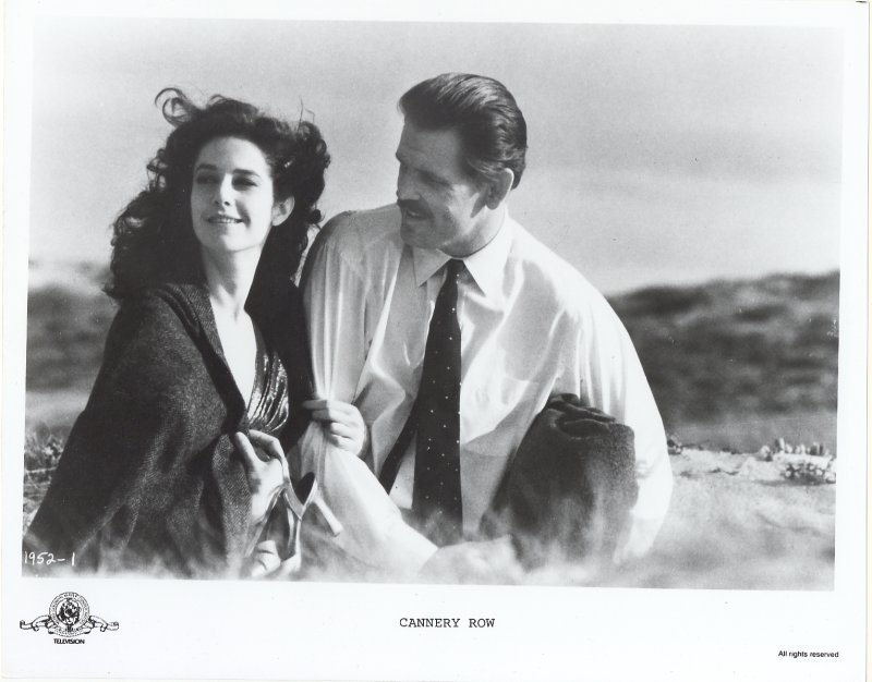 Cannery Row Press Publicity Photo Nick Nolte Debra Winger Movie Film Steinbeck