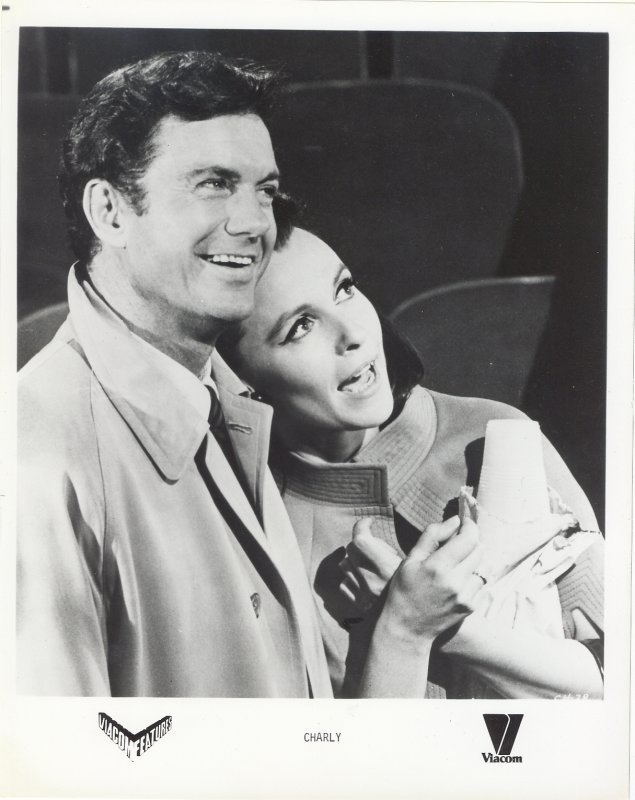 Charly Press Publicity Photo Cliff Robertson Claire Bloom Movie Film