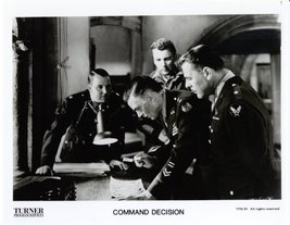 Command Decision Walter Pidgeon Cameron Mitchell Brian Donlevy Press Pho... - $5.99