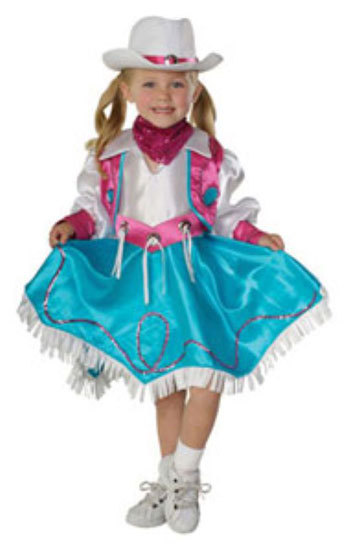 Primary image for Toddler Rodeo Princess Halloween Costume  Size 3-4