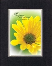 Rejoice in the Lord Always - Philippians 4:4 . . . 8 x 10 Inches Biblical/Rel... - $10.95