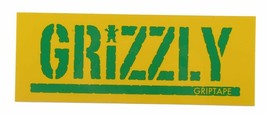 Grizzly Griptape Stamp Logo Sticker- Assorted Colors