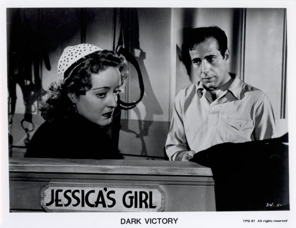 Dark Victory Humphrey Bogart Bette Davis Press Photo Movie