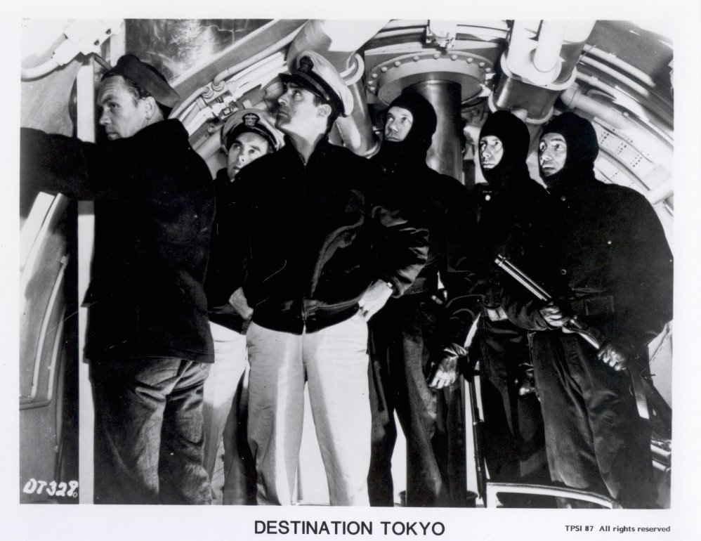 Destination Tokyo Press Cary Grant Promo Publicity Photo