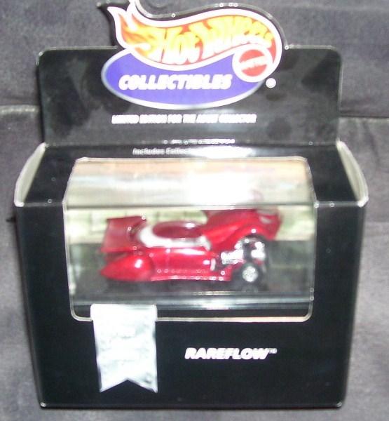 Hot wheels collectibles rareflow red nib