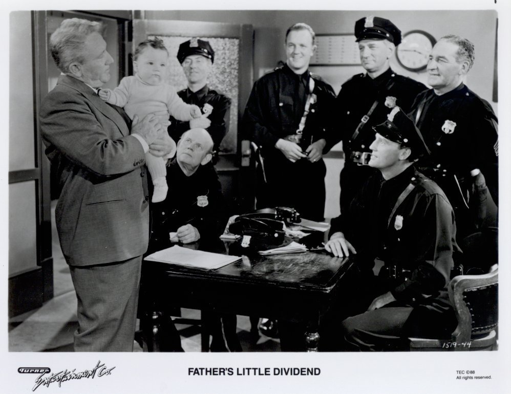 Father's Little Dividend Spencer Tracy Press Promo Photo Movie Still
