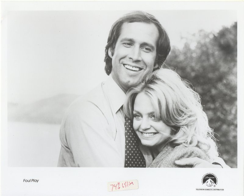 Foul Play Press Publicity Photo Goldie Hawn Chevy Chase Movie Film