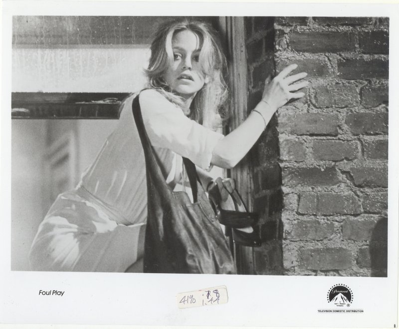 Foul Play Press Publicity Photo Goldie Hawn Movie Film