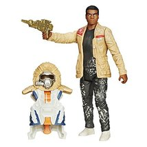 Star Wars The Force Awakens 3.75-Inch Figure Snow Mission Armor Finn (Starkiller - $12.30